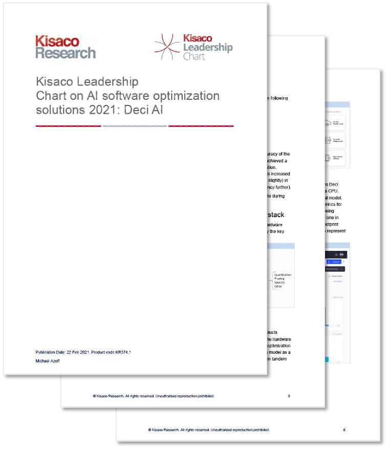 Kisaco AI Optimization Solutions Report Preview