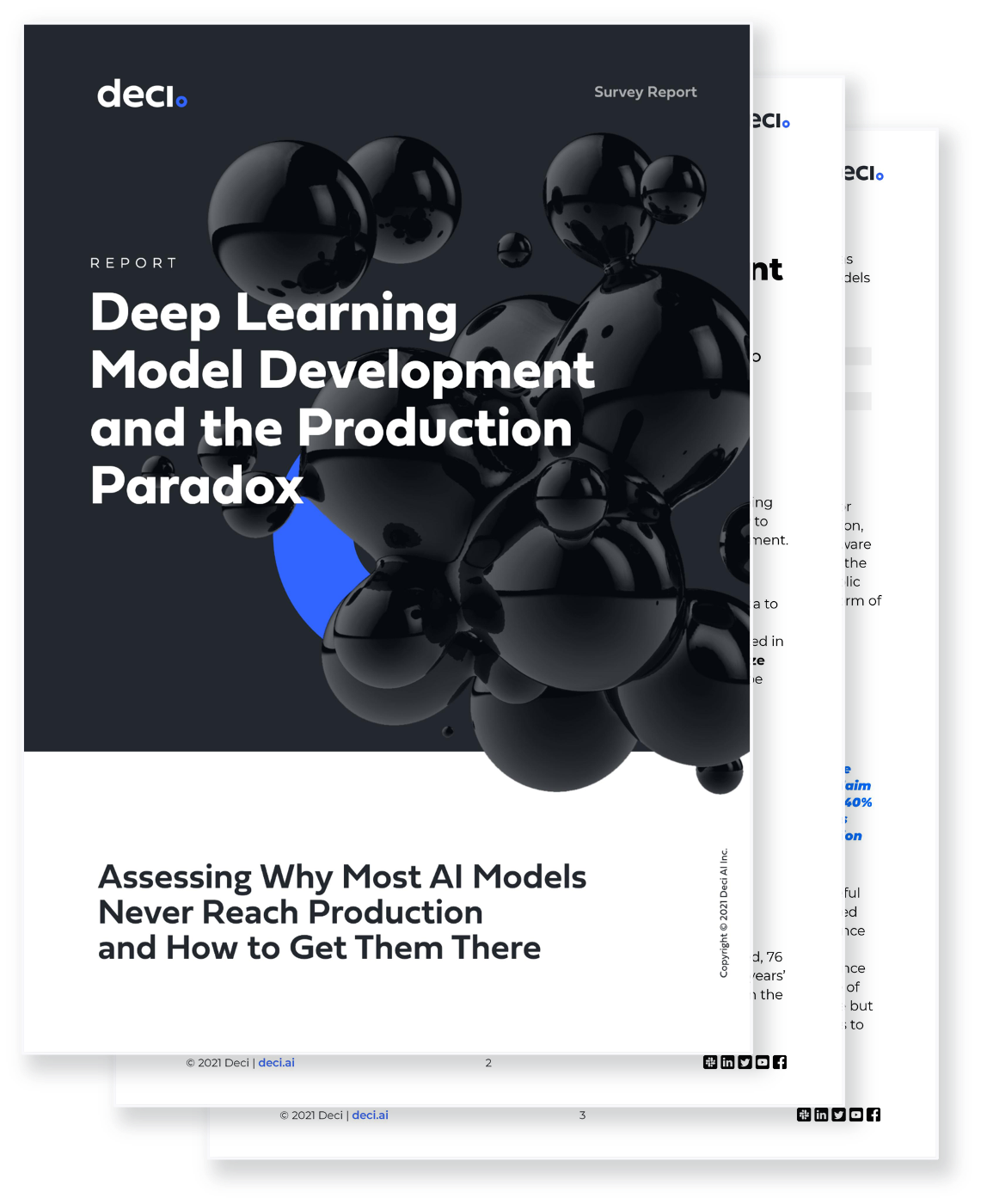 Deep Learning Model Development and the Production Paradox Report Preview